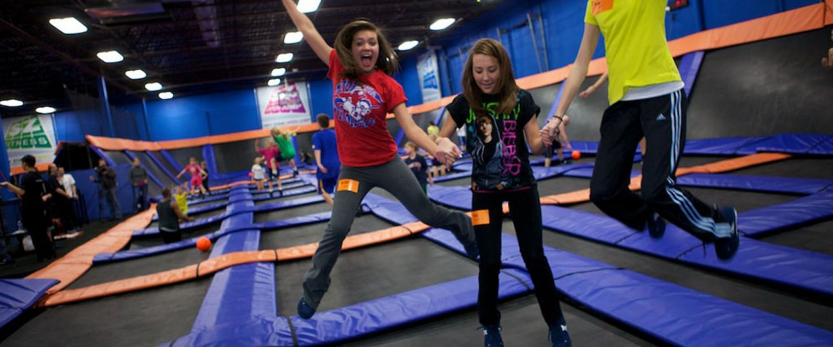 Activities and the benefits of a jumping trampoline