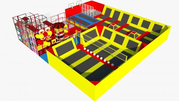 inside trampoline europa
